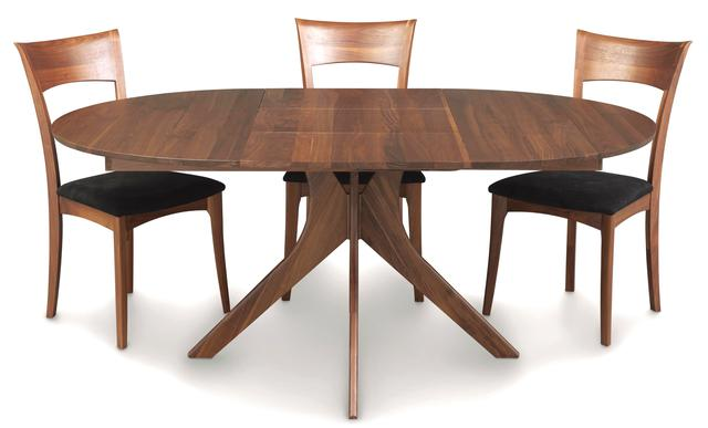Audrey Cherry And Walnut Round Tables