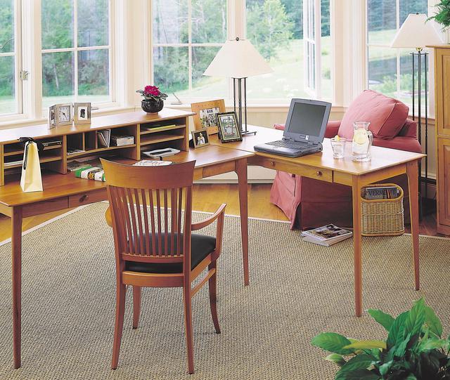 Solid Wood Office Furniture. Cherry. Walnut. Oak. Maple.