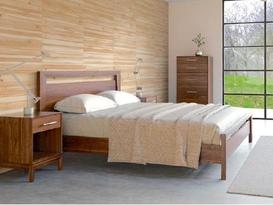 Handmade American Fine Wood Bedroom Furniture Modern