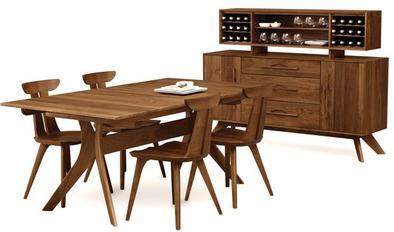 Buffets Hutches Sideboards Credenzas Handmade American Furniture Cherry Walnut Oak Maple Suburban Chicago Showroom Modern